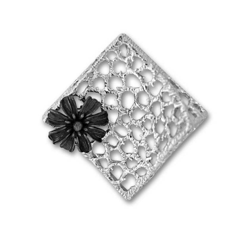 Сребърен медальон без Камък 1729691-Медальони