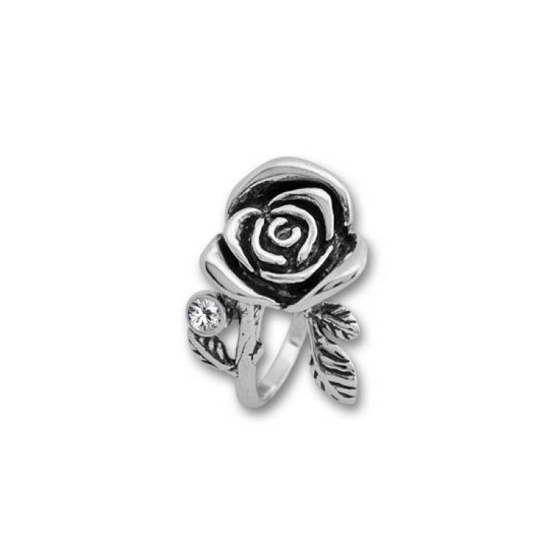 Сребърен пръстен с Камък 1595897-Пръстени