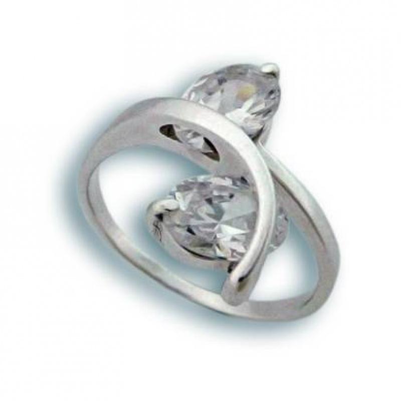 Сребърен пръстен с Камък 1595114-Пръстени