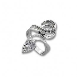 Сребърен пръстен с Камък 1625931-Пръстени