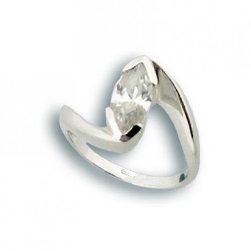 Сребърен пръстен с Камък 1594582-Пръстени