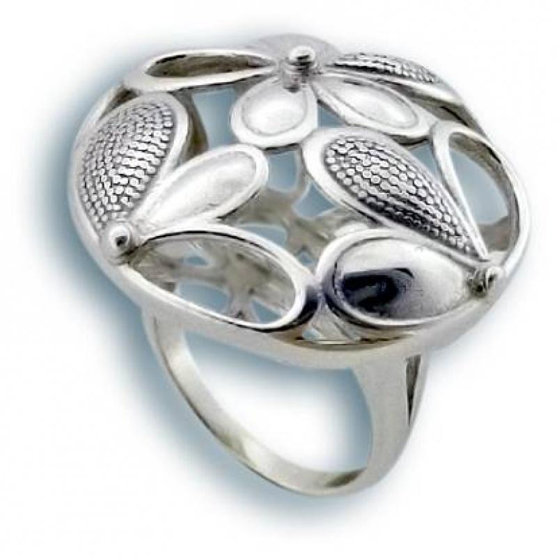 Сребърен пръстен без камък 1515780-Пръстени