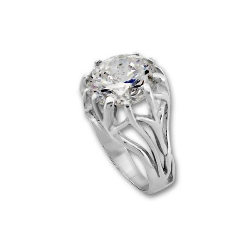 Сребърен пръстен с Камък 1595228-Пръстени