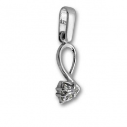 Сребърен медальон с Камък 184476-Медальони