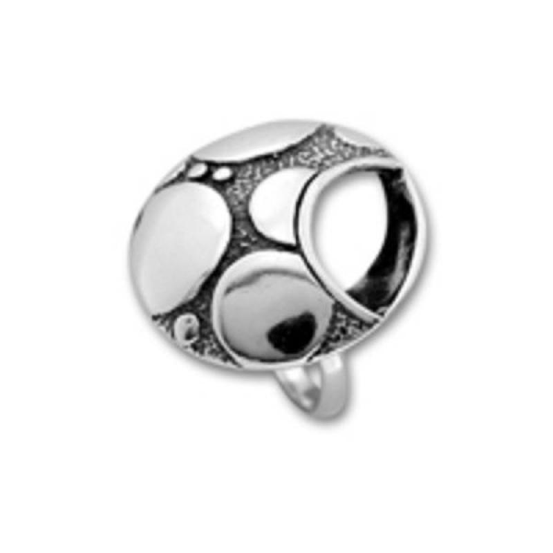 Сребърен пръстен без камък 1535908-Пръстени