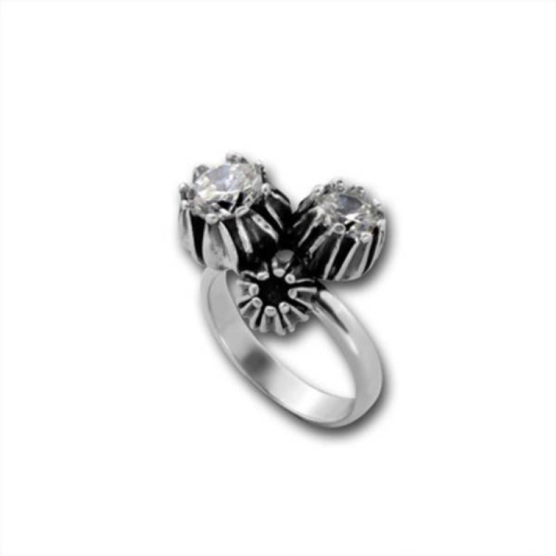 Сребърен пръстен с Камък 1585878-Пръстени