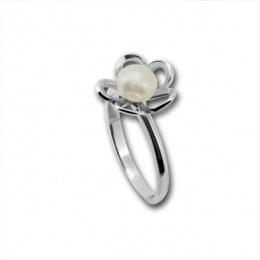 Сребърен пръстен с перла 1705883-Пръстени