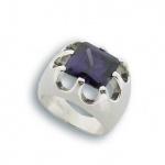 Сребърен пръстен с Камък 1585140-Пръстени