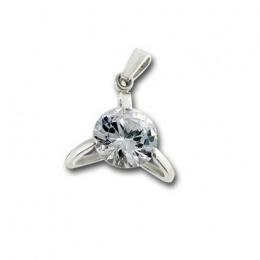 Сребърен медальон с Камък 182816-Медальони