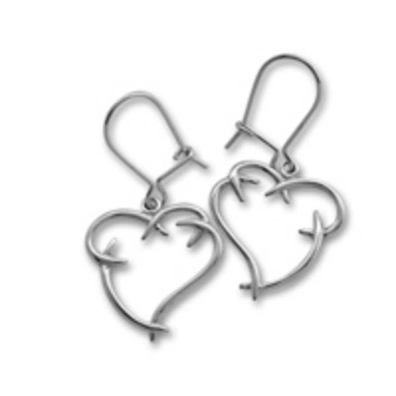 Earline - Сребърни обеци 111892-Сребърни бижута