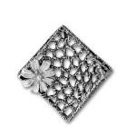 Сребърен медальон без Камък 172969-Медальони