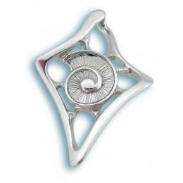 Сребърен медальон без Камък 172770-Медальони