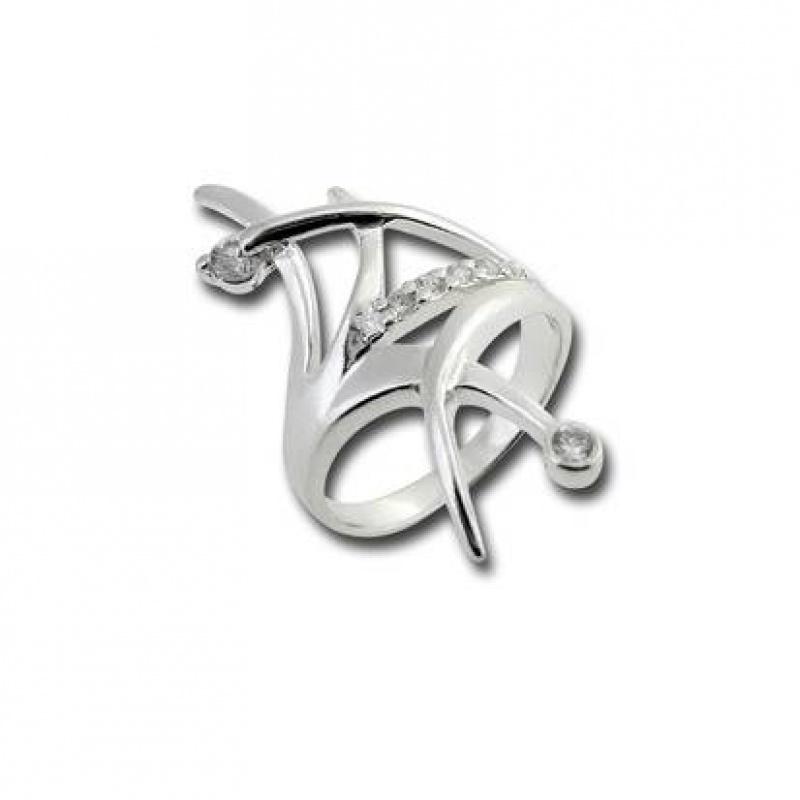 Сребърен пръстен с Камък 1625203-Пръстени