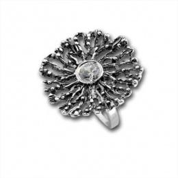 Сребърен пръстен с Камък 1585882-Пръстени