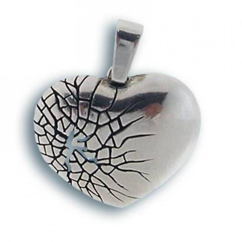 Сребърен медальон без Камък 180308-Медальони