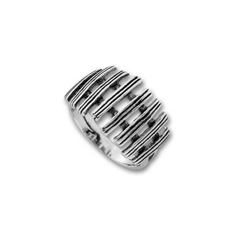 Сребърен пръстен без камък 1565959-Пръстени