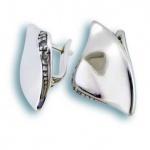 Сребърни обици с Камък 137768-Oбици