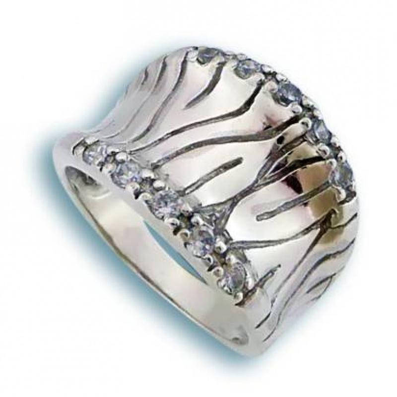 Сребърен пръстен без камък 1615167-Пръстени