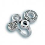 Сребърен пръстен с Камък 1615603-Пръстени