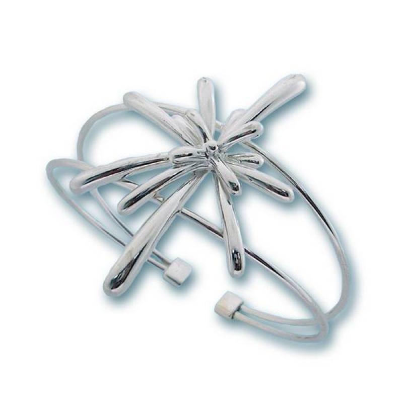 Сребърна гривна 200245-Гривни