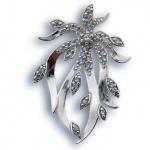 Сребърен медальон с Камък 173361-Медальони