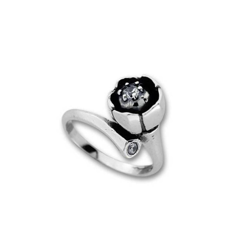 Сребърен пръстен с Камък 1625965-Пръстени