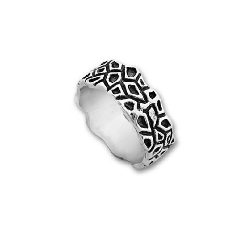 Сребърен пръстен без камък 1665221-Пръстени