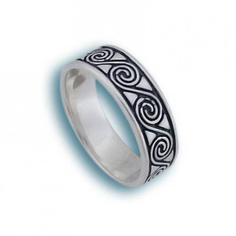 Lidy - Сребърен пръстен без камък 1665162-Сребърни бижута