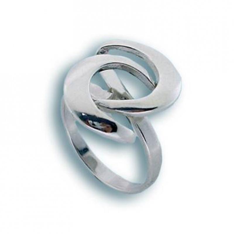 Luana - Сребърен пръстен без камък 1545329-Сребърни бижута