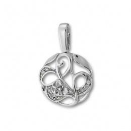 Сребърен медальон с Камък 174967-Медальони