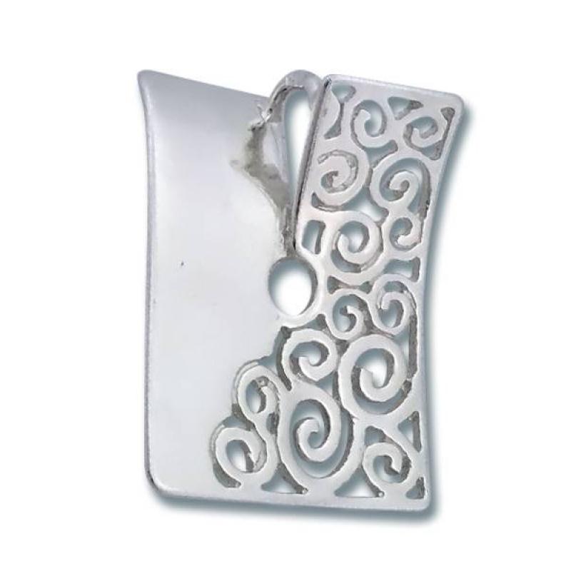 Сребърен медальон без Камък 172833-Медальони