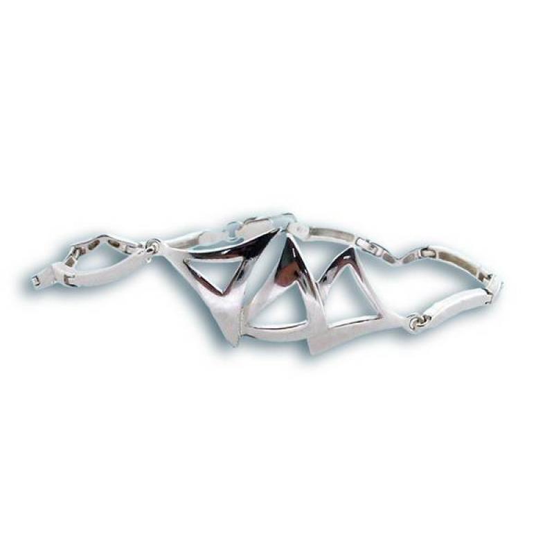Сребърна гривна 200670-Гривни
