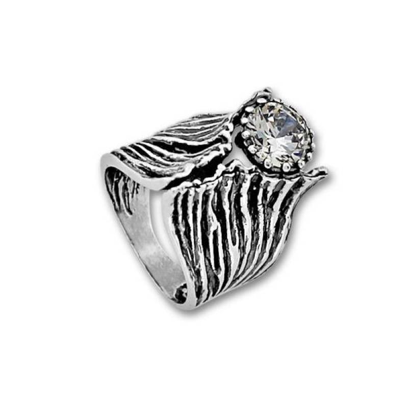 Сребърен пръстен с Камък 1585970-Пръстени