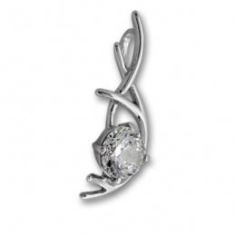 Сребърен медальон с Камък 184470-Медальони