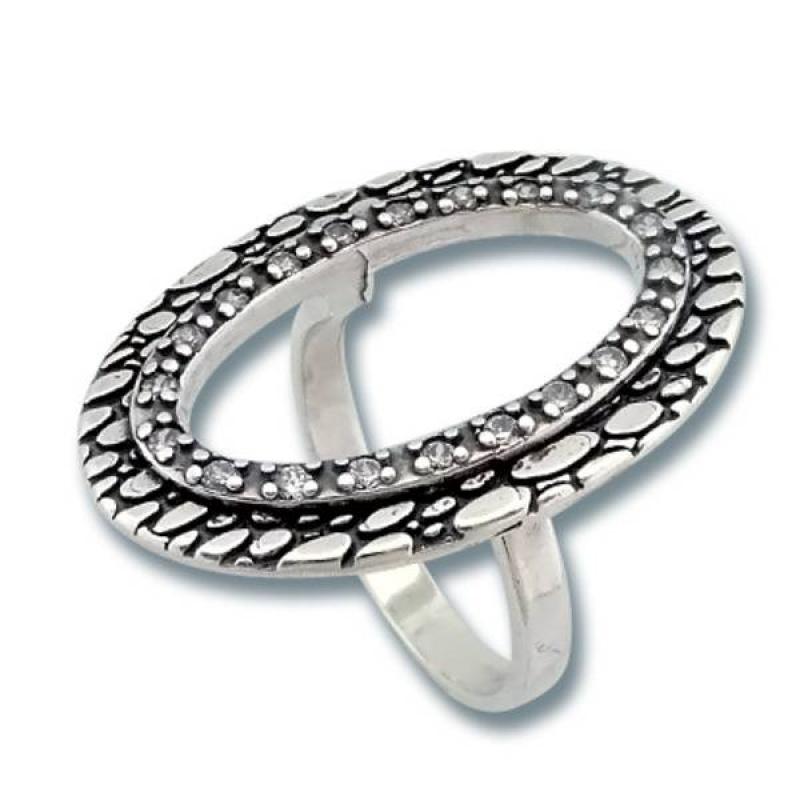 Сребърен пръстен с Камък 1615842-Пръстени