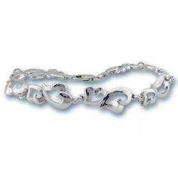 Сребърна гривна 200781-Гривни