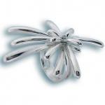 Сребърен пръстен без камък 1505245-Пръстени