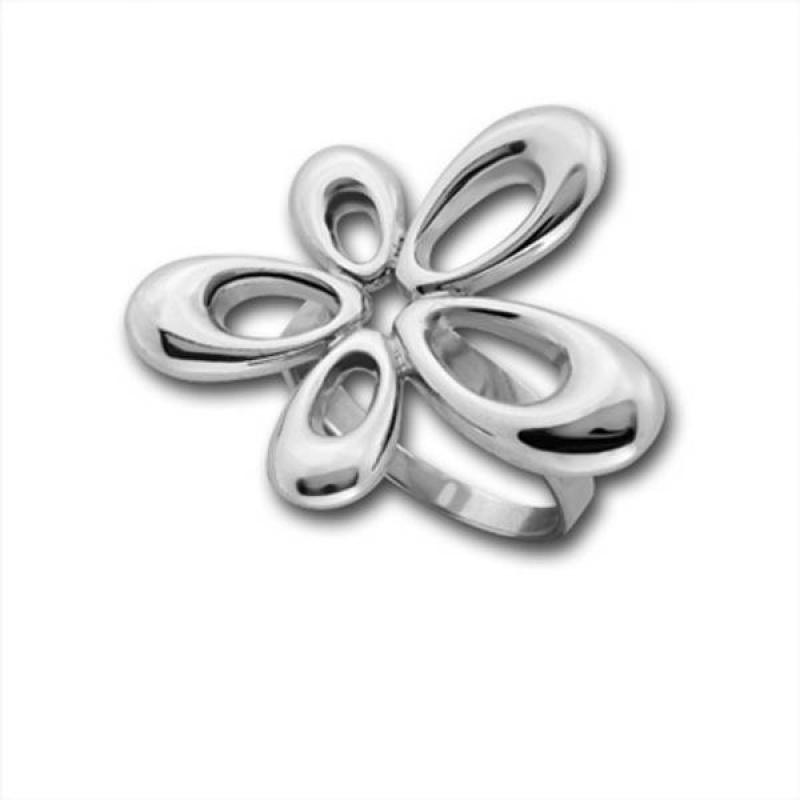 Сребърен пръстен без камък 1545880-Пръстени