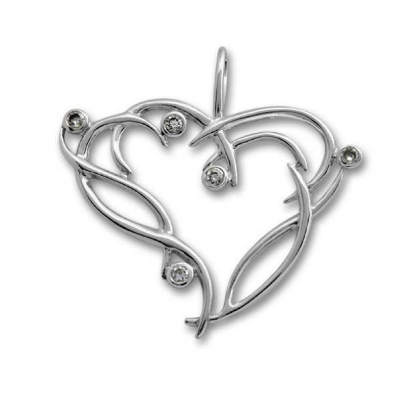 Сребърен медальон с Камък 174892-Медальони