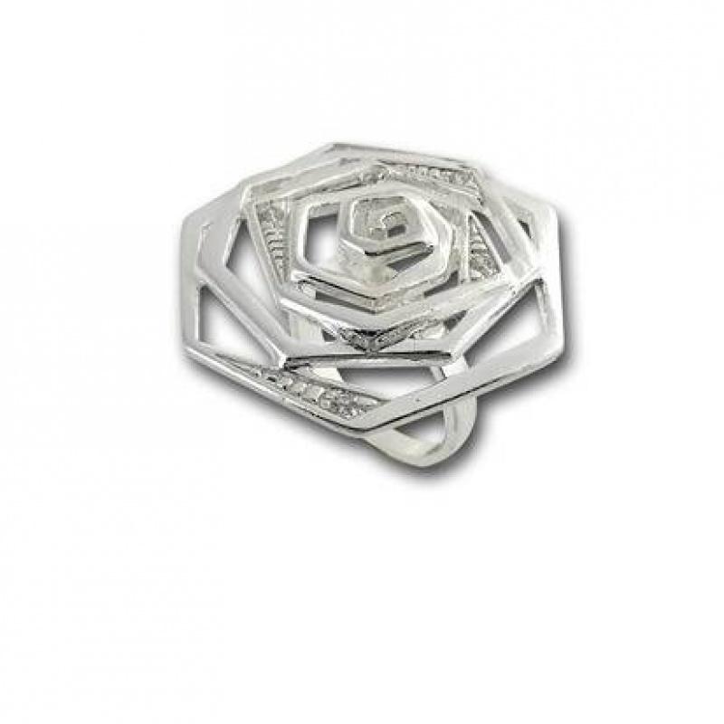 Сребърен пръстен с Камък 1585820-Пръстени