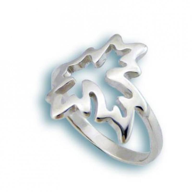 Lunna - Сребърен пръстен без камък 1565767-Сребърни бижута