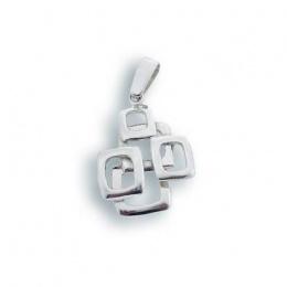 Сребърен медальон без Камък 181735-Медальони