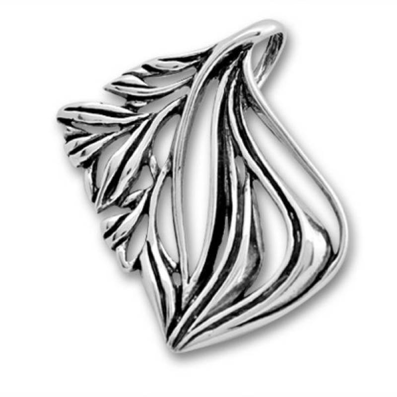 Сребърен медальон без Камък 180905-Медальони