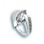 Сребърен пръстен с Камък 1624994-Пръстени
