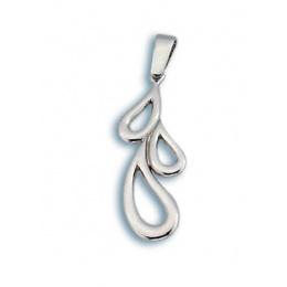 Сребърен медальон без Камък 181326-Медальони