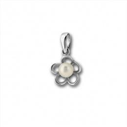 Сребърна висулка с перла 190883-Медальони