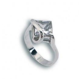 Сребърен пръстен с Камък 1595043-Пръстени