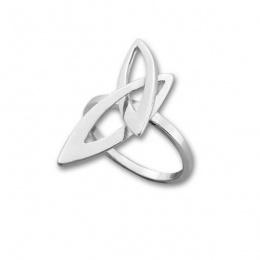 Сребърен пръстен без камък 1565923-Пръстени