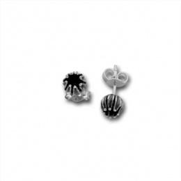 Olivia - Сребърни обици без камък 111878-Сребърни бижута