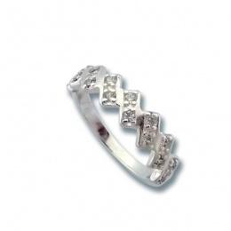 Сребърен пръстен с Камък 1625828-Пръстени